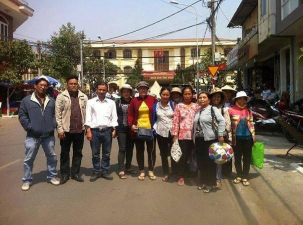 Tham dự phiên tòa tại Đồng Nai, tòa án Việt Nam xử tội hai hội viên và một cảm tình viên của hội một cách bất công