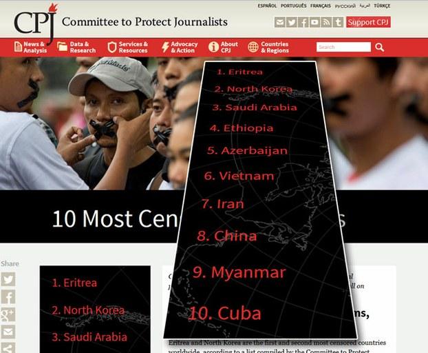 Việt Nam là một trong 10 nước kiểm duyệt báo chí nhiều nhất thế giới 2015