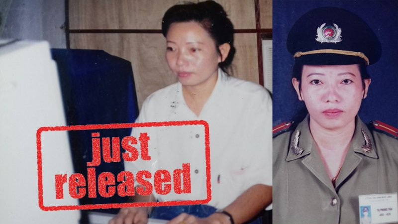 Trước khi trở thành một blogger, bà là một sỹ quan an ninh của tỉnh Bạc Liêu. Ảnh: Tạ Minh Tú