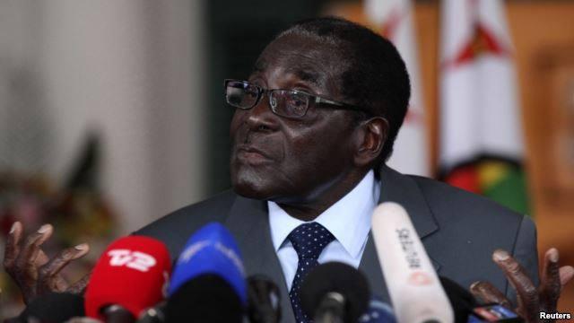 Tổng Thống Robert Mugabe xứ Zimbabwe. Ảnh: internet