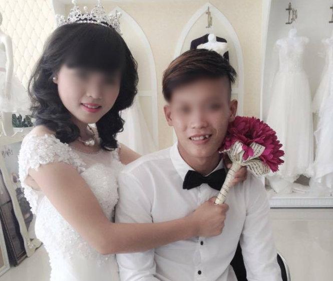 Ảnh đám cưới cô dâu 14 tuổi và con trai ông phó chủ tịch xã