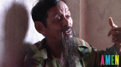 Ông Ngô Phi Long, nạn nhân bị mất đất.