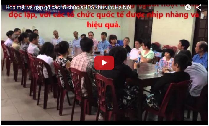 Gặp gỡ các tổ chức XHDS tại Hà Nội