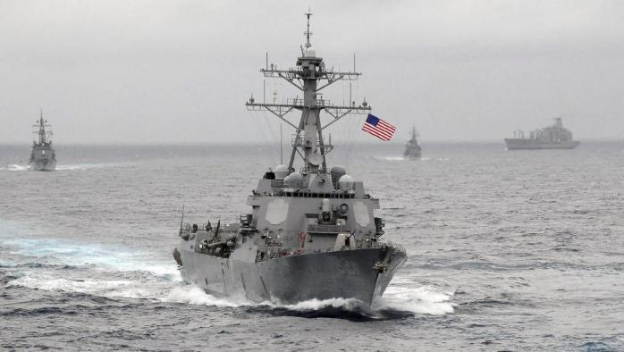 Khu trục hạm Mỹ USS Lassen trên Thái Bình Dương. Ảnh tư liệu chụp năm 2009- Router