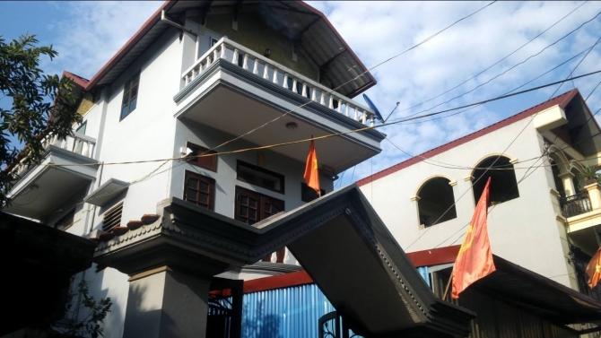 Ngôi nhà 3 tầng của Bí thư Chi bộ Vũ Văn Quy.