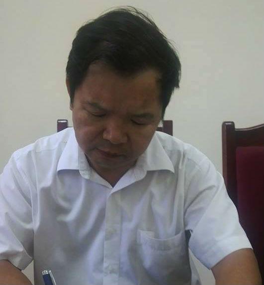 Ông Dương Đức Vinh – Phó Chủ tịch xã Ngũ Hiệp.