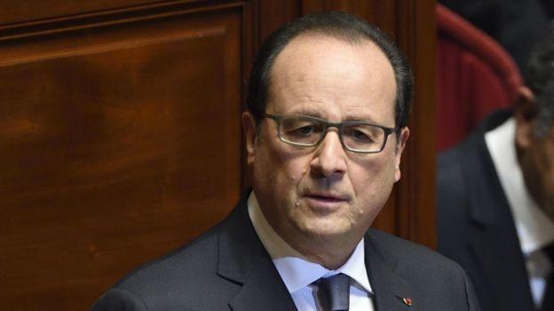 Tổng thống Hollande nói ông sẽ bàn việc hợp tác với Nga và Mỹ