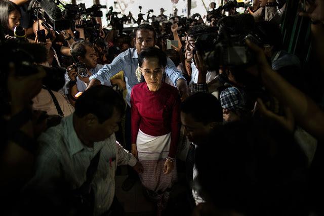Chiến thắng Aung San Suu Kyi là tấm gương dân chủ cho các nước láng giềng