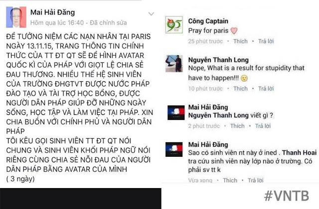 Sinh viên Nguyễn Thành Long có thể bị đuổi học theo quan điểm của TS Mai Hải Đăng?