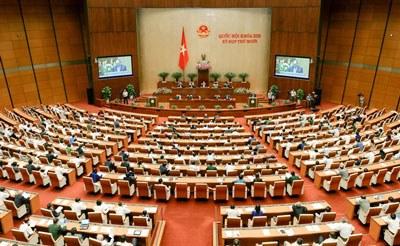 Quốc hội Việt Nam tại buổi chất vấn ngày 18/11/2015. Photo courtesy of quochoi.vn