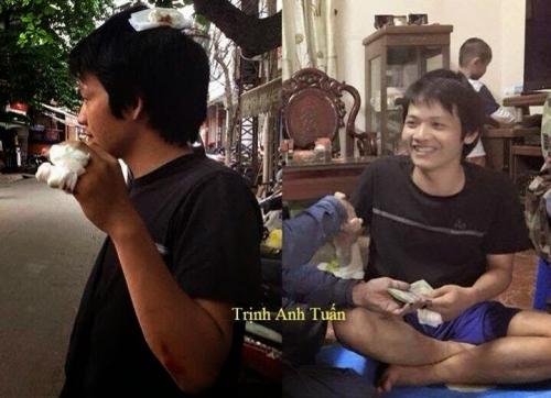 Blogger Gió Lang Thang - Trịnh Anh Tuấn
