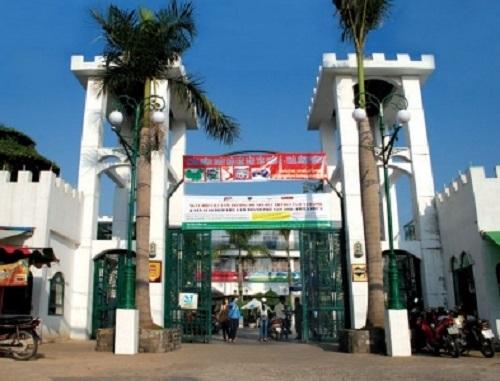 Cơ sở chính của trường ĐH Quốc tế Hồng Bàng