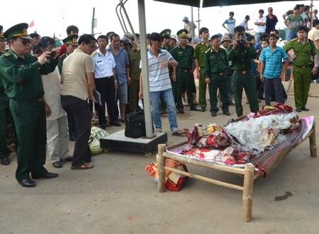Tại vị trí ngư dân Trương Đình Bảy bị bắn ở vùng biển Trường Sa, đã từng có 2 tàu cá ở Quảng Ngãi và Bình Định bị nhóm có vũ trang dùng súng tấn công và cướp tài sản.