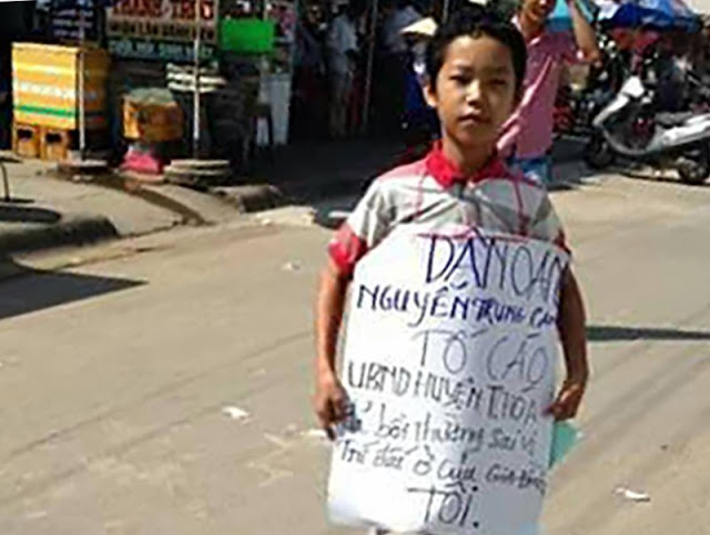 Em Nguyễn Mai Trung Tuấn. Nguồn: internet