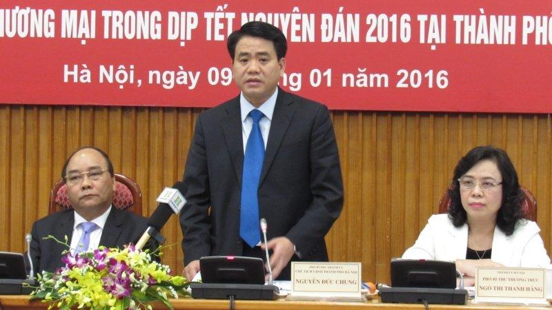 Chủ tịch ủy ban nhân dân Hà Nội - Nguyễn Đức Chung