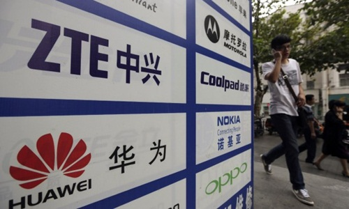 Huawei và ZTE cũng bị nghi ngờ làm gián điệp tại Mỹ. Ảnh: Reuters