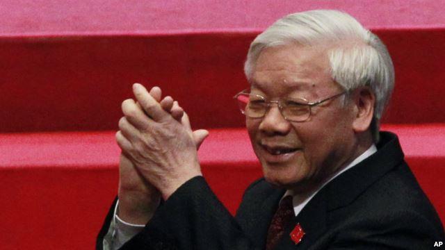 Đại hội 12 đã bầu ông Nguyễn Phú Trọng làm Tổng bí thư cho nhiệm kỳ thứ hai.
