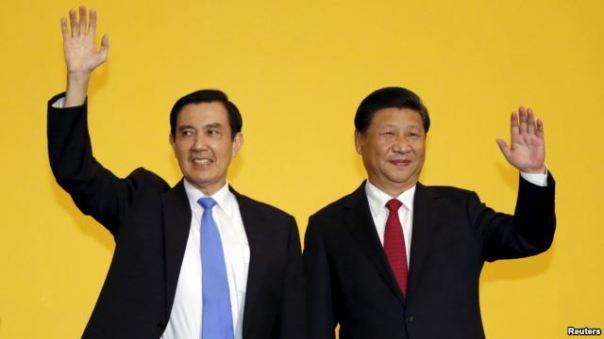 Ông Tập Cận Bình và Tổng thống Đài Loan sắp mãn nhiệm Mã Anh Cửu