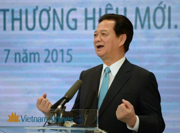 Thủ tướng Việt Nam Nguyễn Tấn Dũng, ảnh minh họa chụp hôm 2/7/2015 tại Hà Nội. Ảnh AP