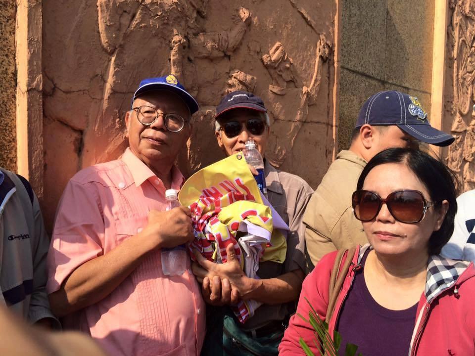Giáo sư Nguyễn Đăng Hưng tại lễ tưởng niệm