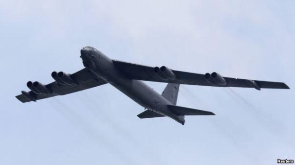 Mới đây, Không quân Mỹ cho biết cũng sẵn sàng triển khai B-52 Stratofortress, máy bay ném bom chiến lược từ thời Chiến tranh Lạnh, tới Trung Đông trong chiến dịch chống Nhà nước Hồi giáo.