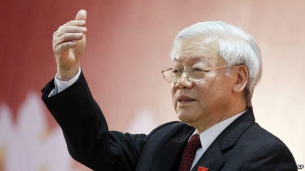 Tổng Bí Thư đảng CSVN Nguyễn Phú Trọng .