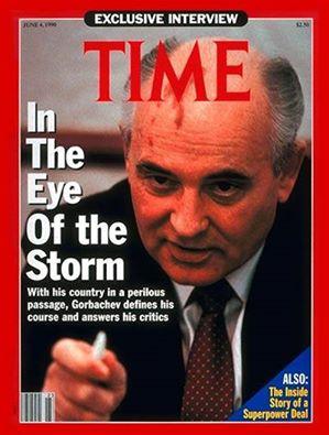 Mikhail Gorbachov, vị tổng bí thư đảng cộng sản Liên Xô cuối cùng.