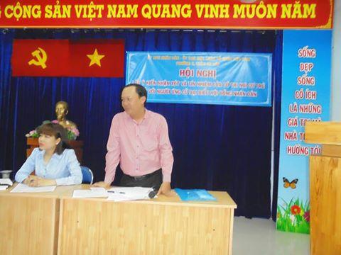Hội nghị cử tri phường 3, Gò Vấp