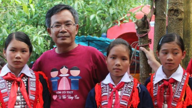 """Ông Trần Đăng Tuấn cũng là nhà từ thiện nổi tiếng với chương trình """"Cơm có thịt"""""""