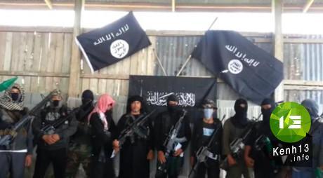 Các phần tử thánh chiến liên hệ với IS ở Philippines. (Nguồn: catholicismusa.com)