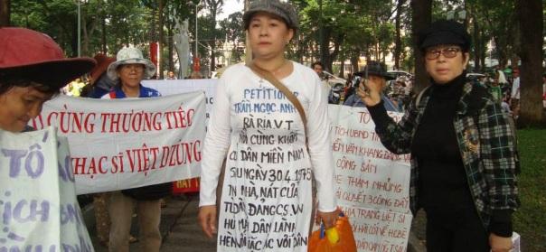 Dân oan Trần Ngọc Anh