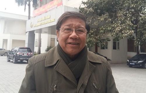 PGS.TS Nguyến Văn Nhã nhấn mạnh, cấu trúc đào tạo đại học phải ưu tiên tuyệt đối cho ngành học. ảnh: Ngọc Quang.