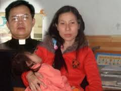 Chị Trần Thị Hồng, vợ mục sư Nguyễn Công Chính.