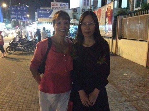 Trang Nhung và người ủng hộ