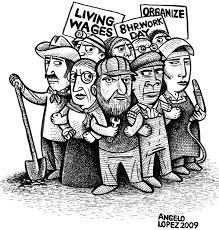 Nghiệp đoàn lao động- hình minh họa.