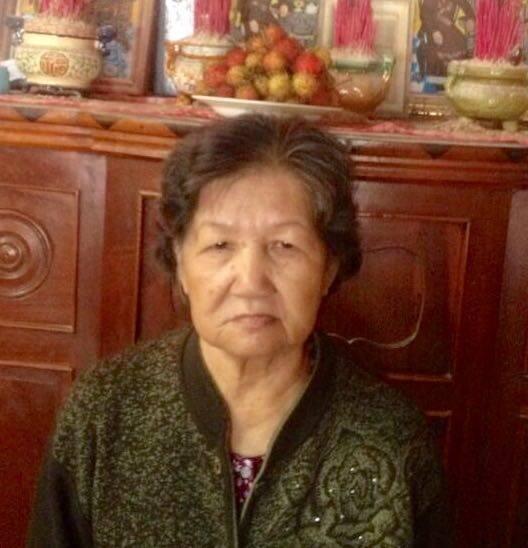 Cụ bà Lê Thị Đê - thân mẫu ký giả Trương Minh Đức