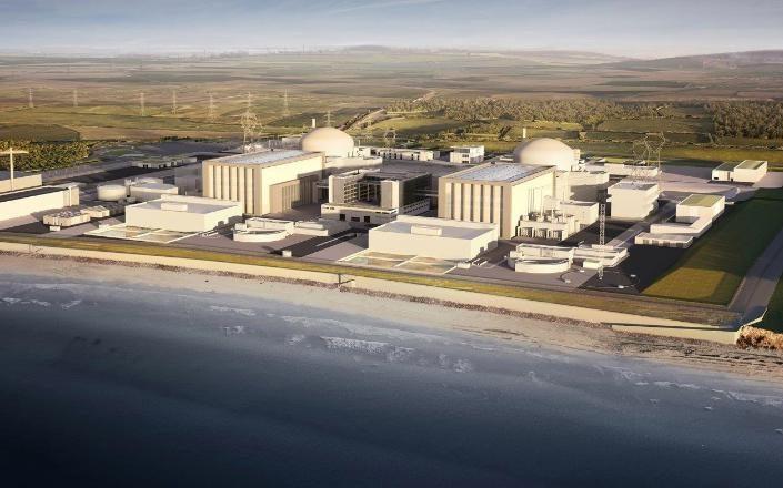 Úc từ chối đầu tư nhà máy điện hạt nhân mới ở Hinkley Point của Trung Quốc. Ảnh: AFP