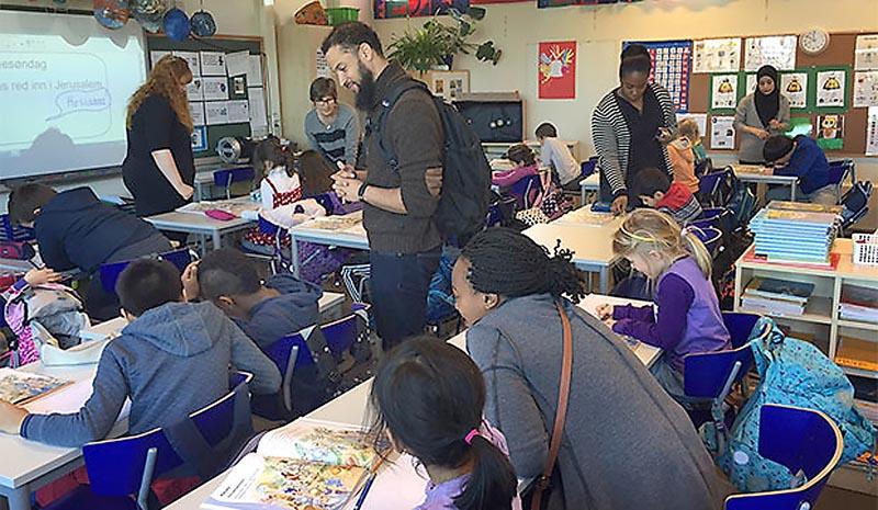 Một lớp học tại Na Uy – nguồn education.gsu.edu