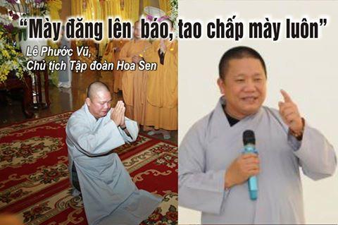 Lê Phước Vũ- chủ tôn Hoa Sen