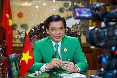 Ông Hồ Huy – chủ tịch tập đoàn Mai Linh