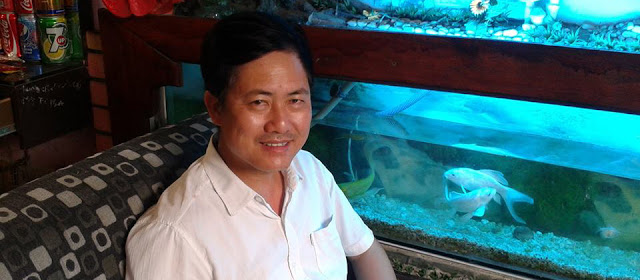 Ông Lưu Văn Vịnh- chủ tịch Liên minh dân tộc tự quyết