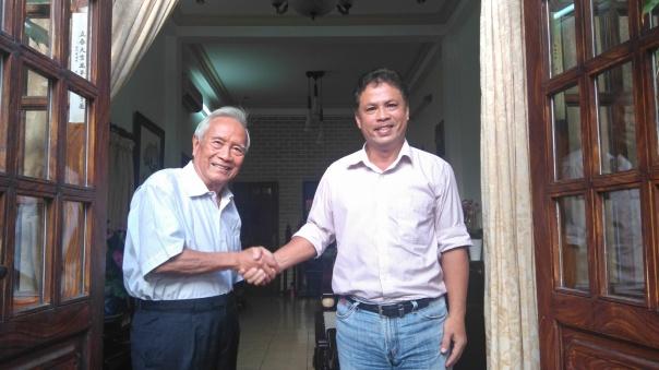 Bác sỹ Nguyễn Đan Quế và kỹ sư Đỗ Nam Hải