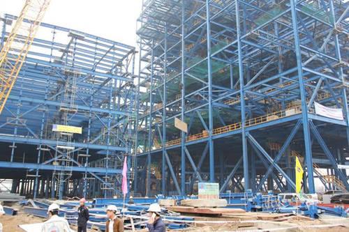 Nhà máy Nhiệt điện Thái Bình 2, một công trình được cho là có nhiều dấu hiệu sai phạm trong quá trình đầu tư