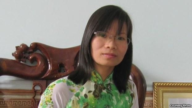 Cựu tù nhân lương tâm Phạm Thanh Nghiên.