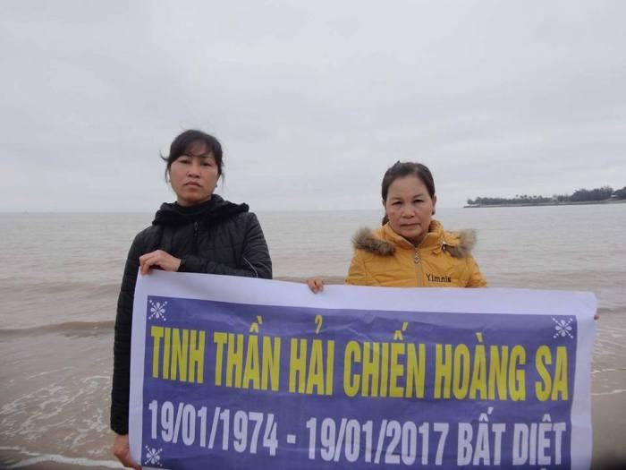 Phụ nữ Hải Phòng kỷ niệm tử sĩ Hoàng Sa