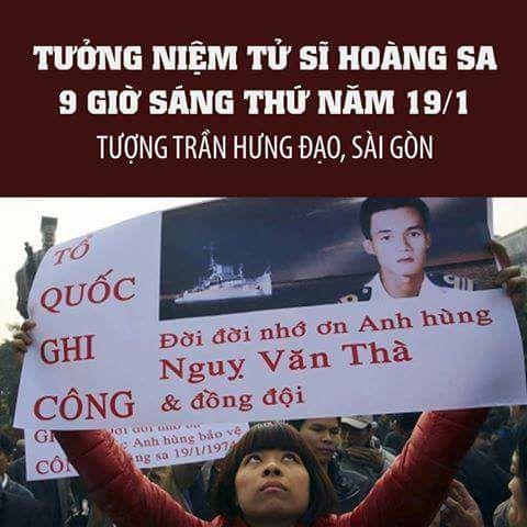 Nhà hoạt động Mai Thảo - Thảo Teresa tri ân tử sĩ Việt Nam Cộng Hòa