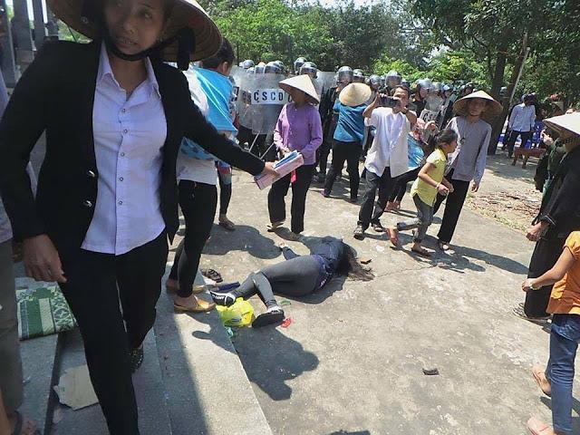 Chính quyền cưỡng chế, đập nát nhà thờ giáo xứ Đông Yên, Kỳ Anh, Hà Tĩnh - YouTube