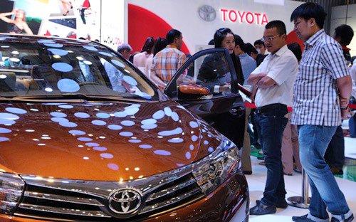 Cam kết về tỷ lệ nội địa hoá của Toyota không đạt như trong giấy phép đầu tư yêu cầu.