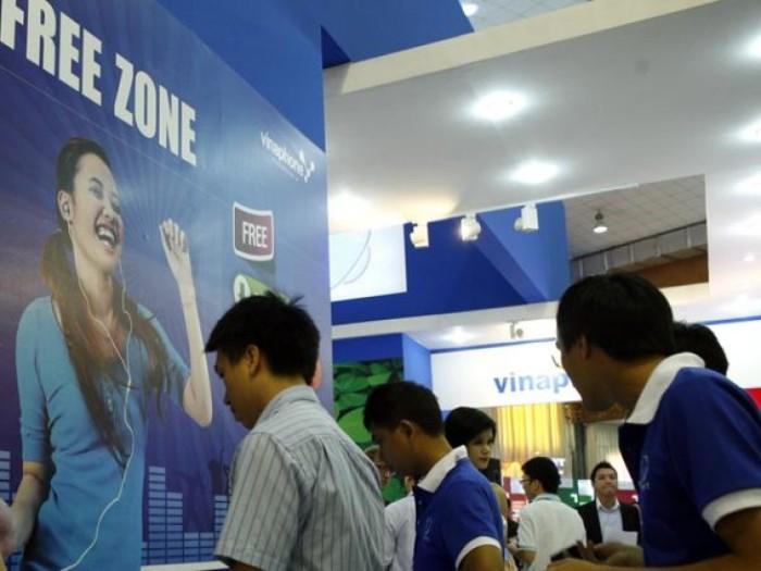 VinaPhone hiện chỉ có hơn 26 triệu thuê bao, thua xa Viettel và MobiFone. Ảnh: Đức Thanh