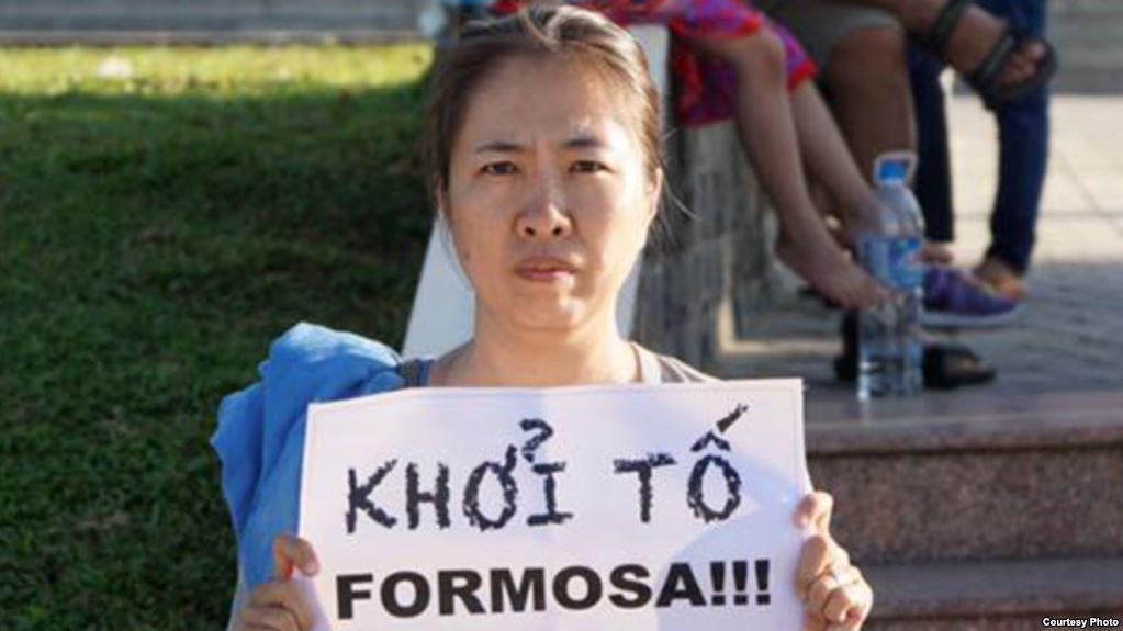 Nhà vận động vì môi trường Nguyễn Ngọc Như Quỳnh, một trong những người tiên phong yêu cầu khởi tố Formosa.